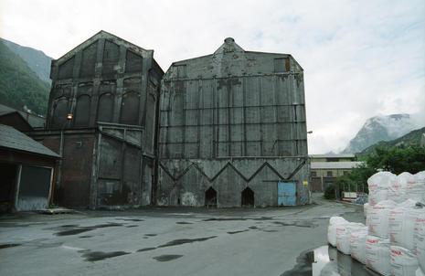 Bygg på Odda Smelteverk