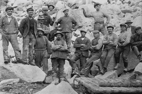 Rallarar i Skjeggedal