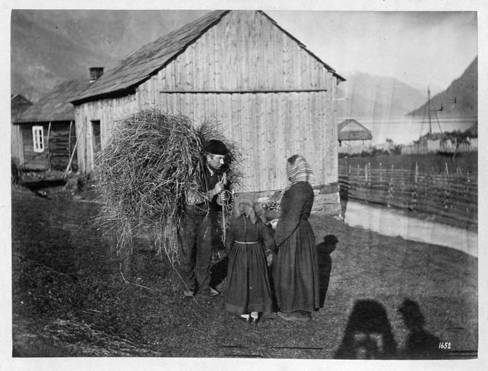 Knud Knudsen foto frå Hardanger