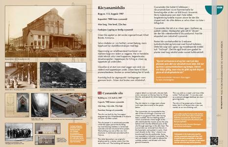 Informasjonsskilt Smelteverkstomta