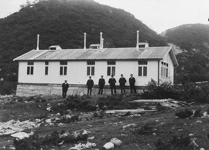 Felt-sjukehuset Keiserbrakka 1908-09
