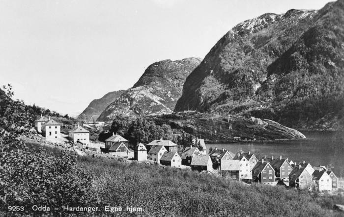 Arbeidarbustader i Odda og Tyssedal på 1900-talet