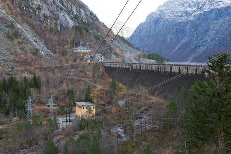 Pumpestasjon Skjeggedal